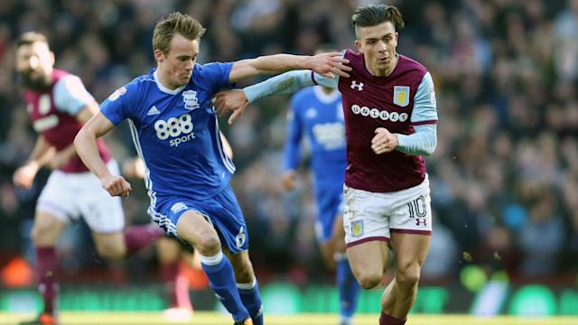 Jack Grealish produced the star performance as Aston Villa saw off rivals Birmingham City at Villa Park.