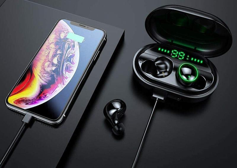 Get these Donerton Wireless Earbuds for just $37, or nearly 75 percent off. (Photo: Donerton)