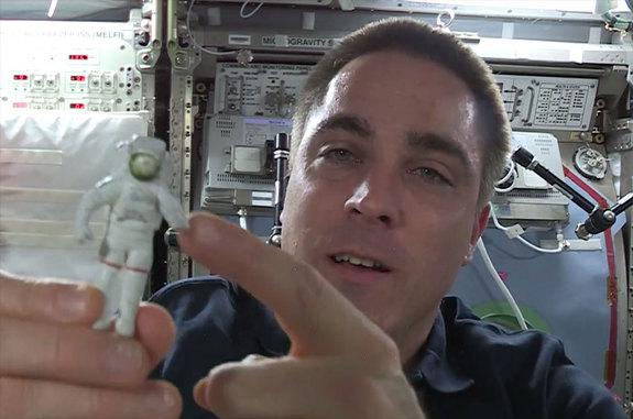 Astronaut Reveals 'Lucky Charm' Floating on Space Station