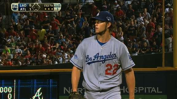 Watch every Clayton Kershaw strikeout from Game 1 of the NLDS