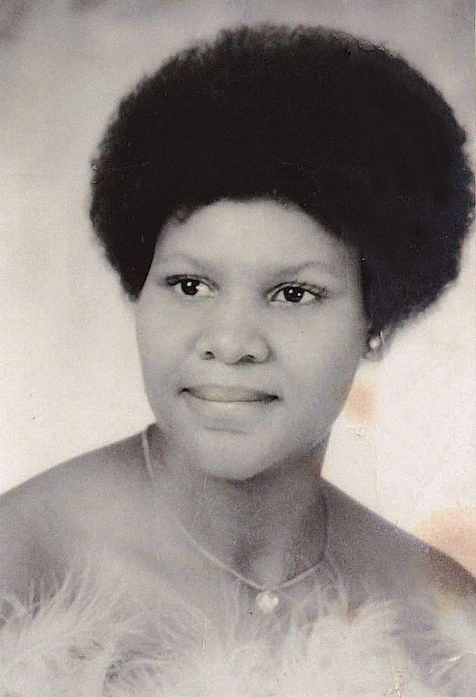 Johnson in her 1973 yearbook | Courtesy Alice Marie Johnson