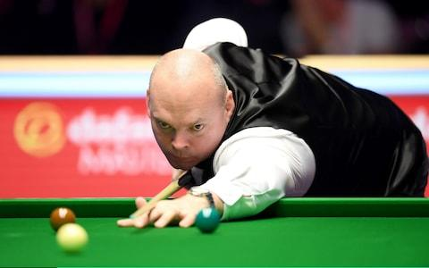 Bingham recovered from losing the first four frames of the evening session to regain control of the final - Credit: GETTY IMAGES