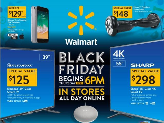 Walmart is packing some serious heat when it comes to Black Friday deals.