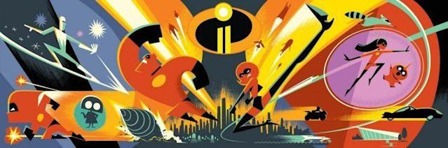 First look at Incredibles 2 art (Disney/Pixar)
