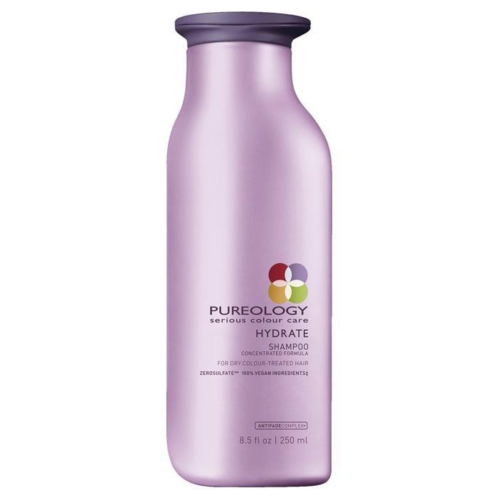 """<p>Jojoba, green tea, and sage are used to restore strands in the gentle yet strengthening <span>Pureology Hydrate Shampoo</span> ($31). Experts recommend the versatile formula <a href=""""https://www.popsugar.com/beauty/photo-gallery/42711746/image/42711761/Pureology-Hydrate-Shampoo-Conditioner"""" class=""""link rapid-noclick-resp"""" rel=""""nofollow noopener"""" target=""""_blank"""" data-ylk=""""slk:for all hair types and shades"""">for all hair types and shades</a>. It's particularly great for dyed hair.</p>"""