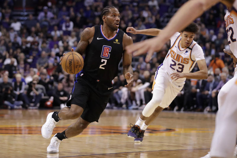 CLIPPERS SUNS