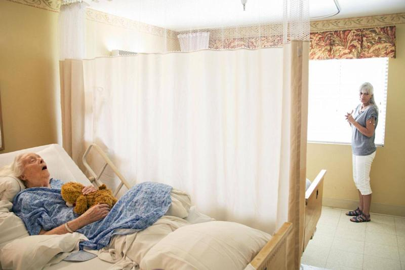 The report says even when care homes breach rules, they are rarely punished (HRW)