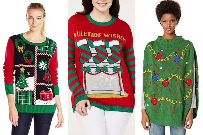 a525b6447e7 5 Christmas Sweaters That Are So Ugly, They're So Good