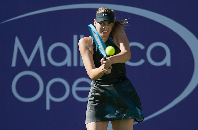 Sharapova makes winning return