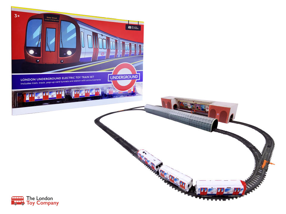 A price hike has already been made on toys such as the company's new Underground train set. (PA/The London Toy Company)