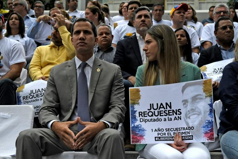 Opposition leader Juan Guaido backs the latest sanctions announced by US President Donald Trump