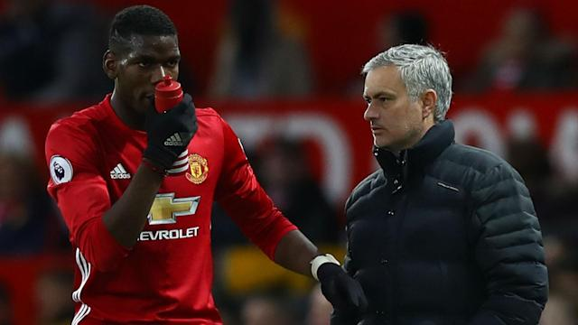 Paul Pogba is one of Jose Mourinho's key men in the heart of Manchester United's midfield