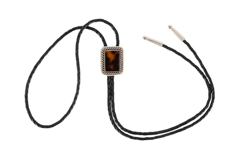 """$180, Huckberry. <a href=""""https://huckberry.com/store/seager-co/category/p/65591-boone-bolo-tie"""" rel=""""nofollow noopener"""" target=""""_blank"""" data-ylk=""""slk:Get it now!"""" class=""""link rapid-noclick-resp"""">Get it now!</a>"""