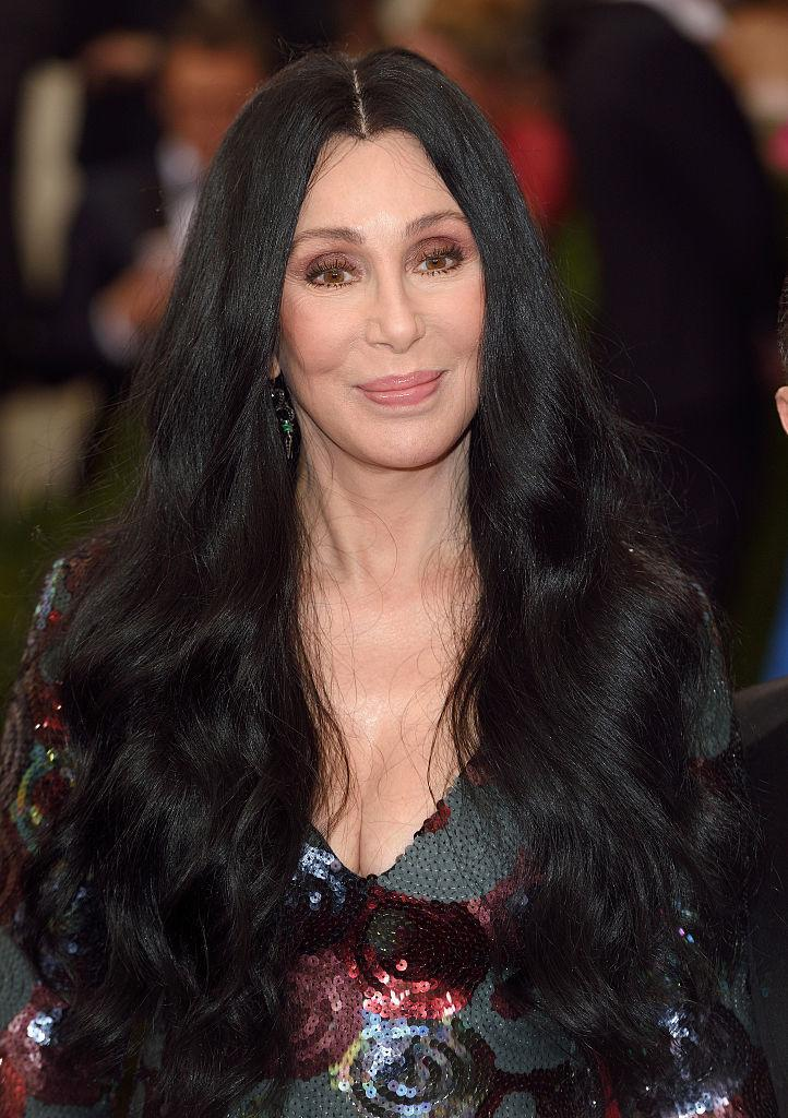 <p>Cher, seen here in 2015, a year after her last album's release, was looking fully into her own, with still-luscious hair, dewey skin, and subtle swipes of pink from lip to brow. <i>(Photo: Getty Images)</i></p>