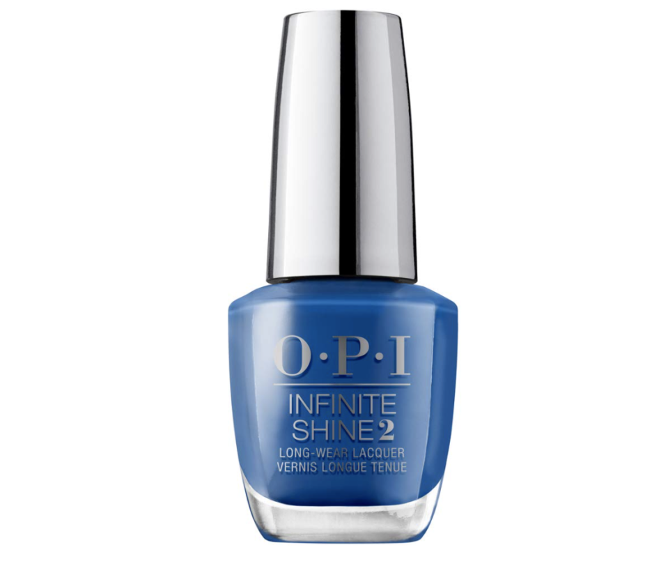 """<p>It's time for you to embrace your dreams. Finding a spark of inspiration won't be hard this month, but making them a reality will take a little work. All the more reason for you to adorn your claws with a bright blue hue to help bring your creativity to life.</p> <p>To shop: $11, <a href=""""https://www.amazon.com/OPI-Infinite-Shine2-Casa-Blue/dp/B082BKFQNG?&linkCode=ll1&tag=isnailcolorseachsignshouldwearforgeminiseasonlstardust0521-20&linkId=5463af9e92d760476552e3609a7de553&language=en_US&ref_=as_li_ss_tl"""" rel=""""nofollow noopener"""" target=""""_blank"""" data-ylk=""""slk:amazon.com"""" class=""""link rapid-noclick-resp"""">amazon.com</a></p>"""