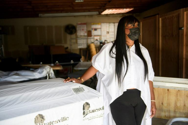 Some 80 percent of the deceased passing through the doors of Candy Boyd's funeral home have died from Covid