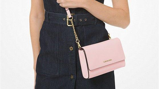Hundreds of Michael Kors shoppers love this vibrant crossbody—and you can get it for just $65.60.