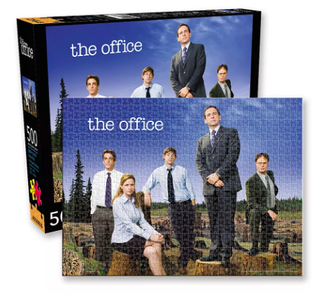 The Office Cast 500 Piece Puzzle. Image via Urban Outfitters.
