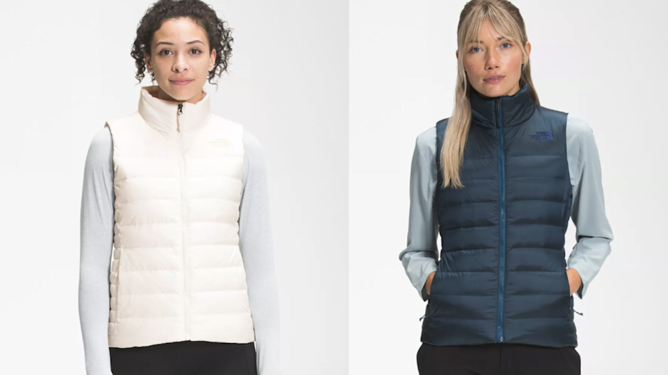 This North Face puffer vest is guaranteed to keep you warm.