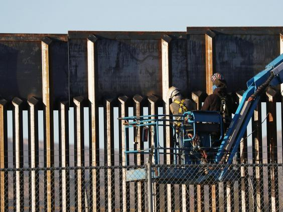 Trump hasn't yet managed as much of his border wall as he would have liked (Joe Raedle/Getty Images)