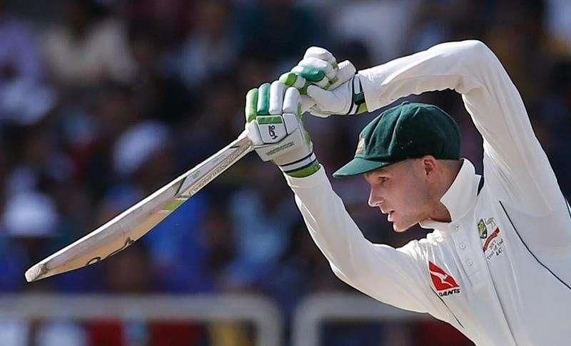 One of Sheffield Shield's leading run scorers, Handscomb flopped on the same home pitches against India