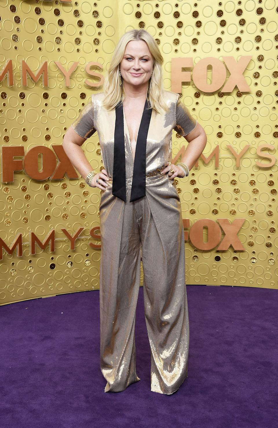 """<h1 class=""""title"""">Amy Poehler in Greta Constantine</h1><cite class=""""credit"""">Photo: Getty Images</cite>"""