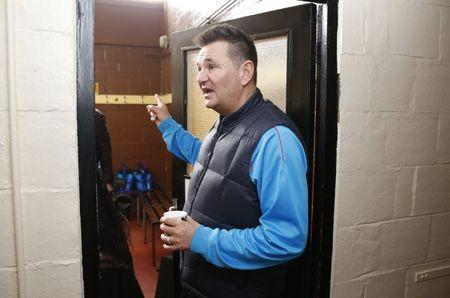 Sutton United manager Paul Doswell during the media day