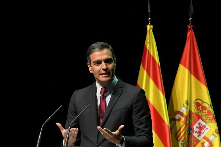 Spain's prime minister Pedro Sanchez said he wants reconciliation with the Catalan separatists