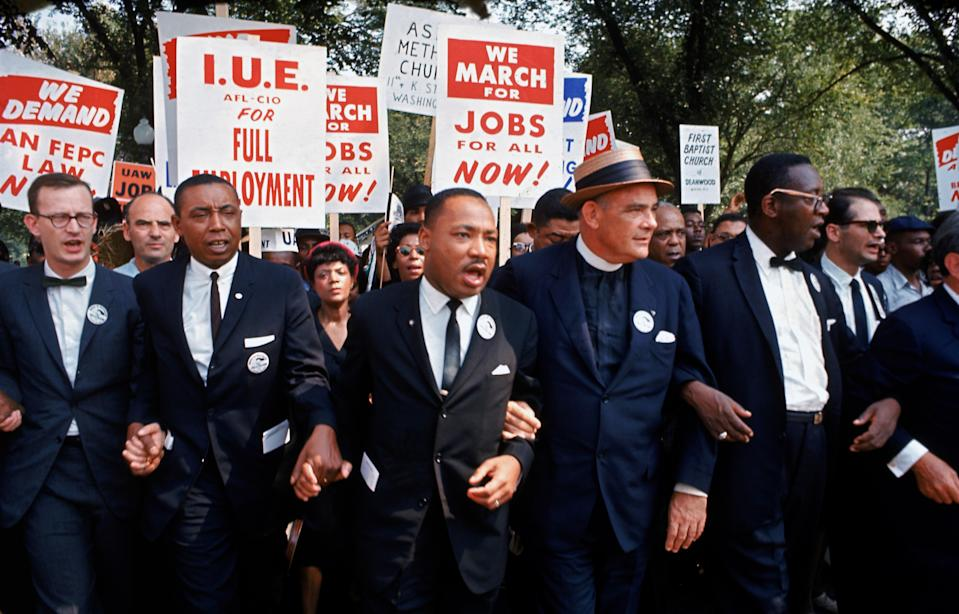 """<h1 class=""""title"""">March On Washington For Jobs And Freedom</h1><cite class=""""credit"""">Robert W. Kelley/Getty Images</cite>"""