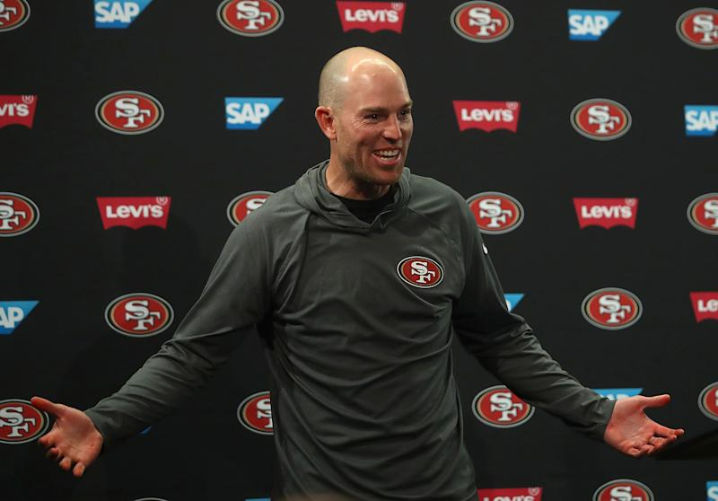 Robbie Gould and his agent have told the San Francisco 49ers that the kicker won't negotiate a long-term deal and would like to be traded. (AP)