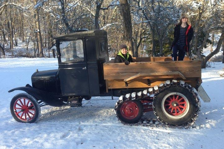 first ford model t snowmobile photo