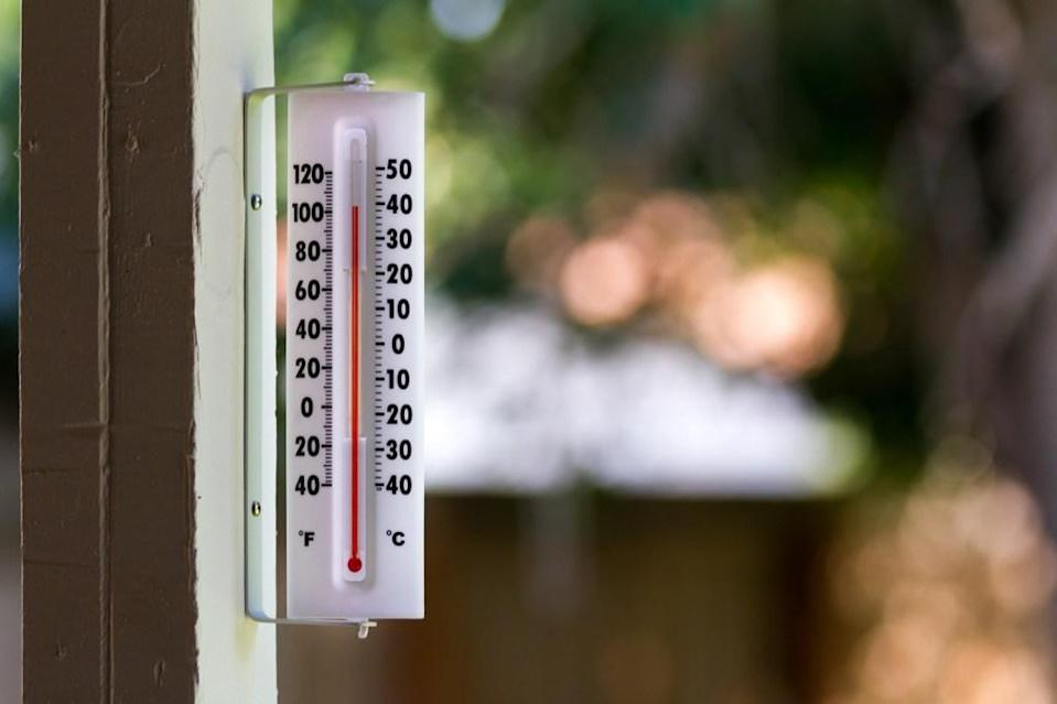"""You should never let your water heater temperature fall below 120 degrees Fahrenheit. If you do, you're opening your home to dangerous bacteria. """"At this temperature, harmful pathogens—like the kind that cause Legionnaires' disease—are prevented from multiplying and may be killed,"""" says Dawson. """"As the temperature gets higher, pathogens die off quicker. For that reason, other agencies like the <a href=""""https://www.osha.gov/SLTC/legionnairesdisease/control_prevention.html#hotwater"""" rel=""""nofollow noopener"""" target=""""_blank"""" data-ylk=""""slk:Occupational Safety and Health Administration"""" class=""""link rapid-noclick-resp"""">Occupational Safety and Health Administration</a> (OSHA) recommend a water heater temperature of 140 degrees Fahrenheit."""""""