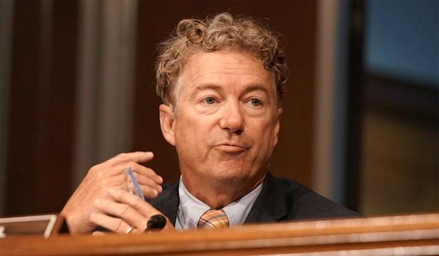 Rand Paul Says Senate Panel Will Refer Report on Hunter Biden's Foreign Dealings to DOJ for Criminal Investigation