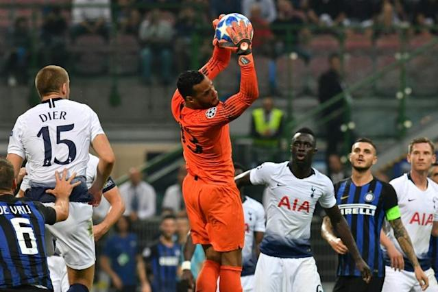Michel Vorm has returned to Tottenham as cover for the injured Hugo Lloris (AFP Photo/Andreas SOLARO)