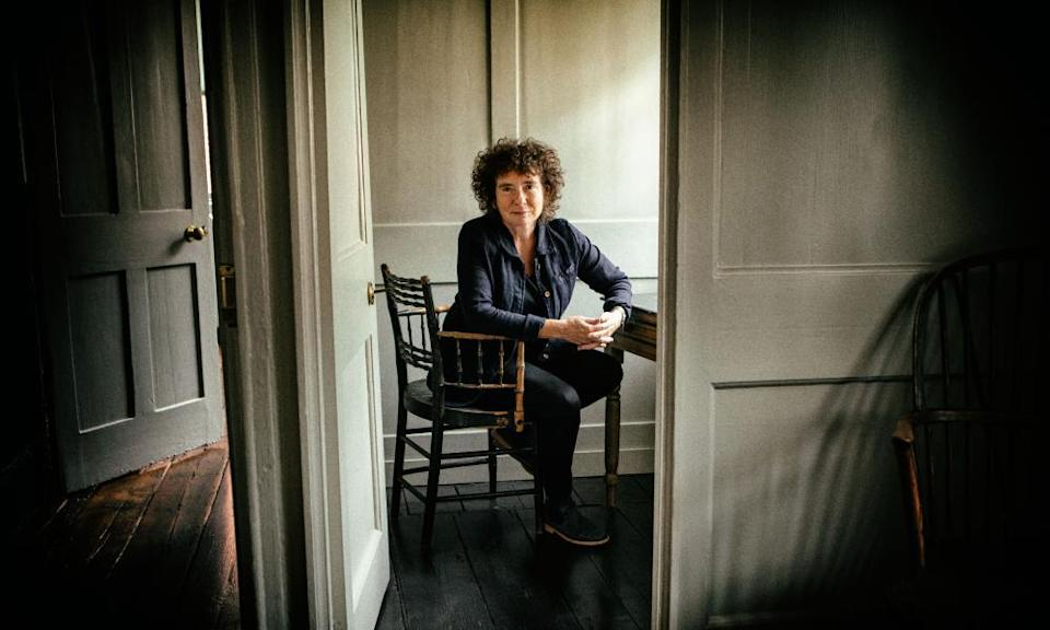 'Irreverent asides and mischievous flashes of wit': Jeanette Winterson photographed at her home in London.