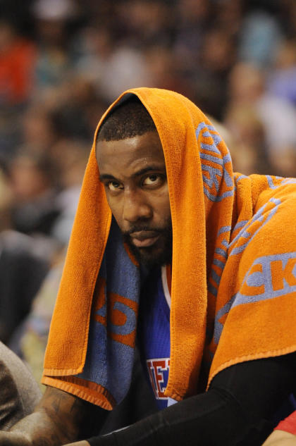 Amar'e Stoudemire is in the final year of his five-year, $100 million contract. (USA Today)