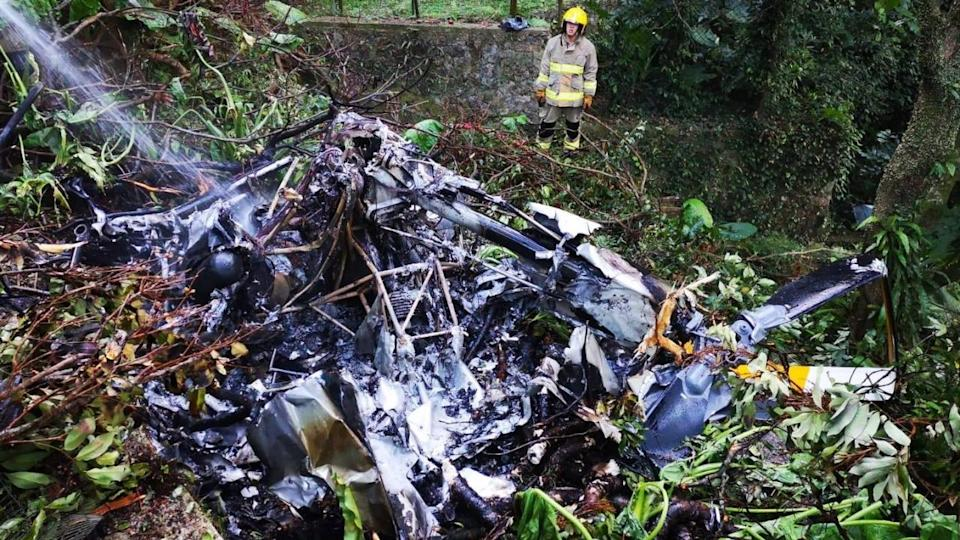 Helicopter crashes at Kadoorie Farm and Botanic Garden in Hong Kong, killing 49-year-old pilot