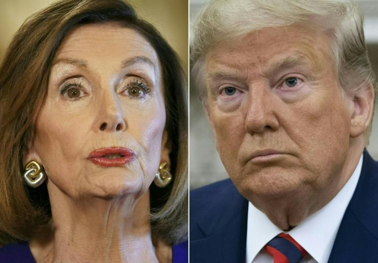 US Speaker of the House Nancy Pelosi is leading the impeachment of US President Donald Trump
