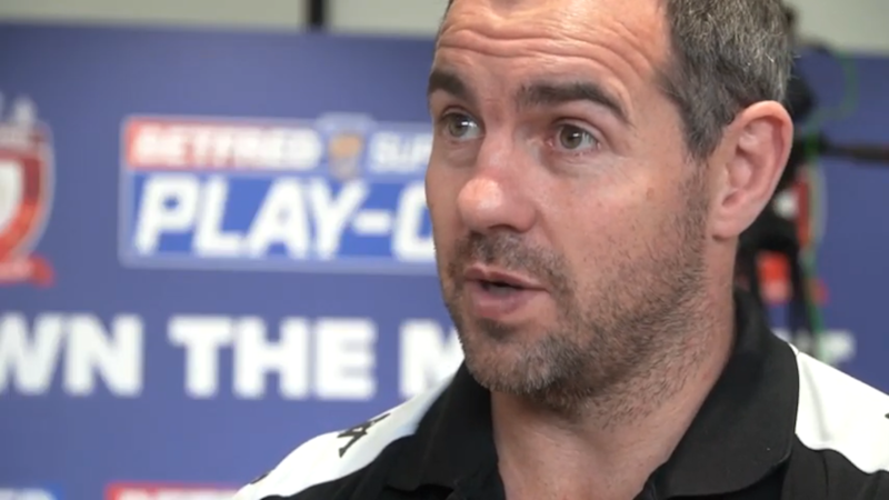 Ian Watson knows just how close Salford are to completing a staggering Super League season