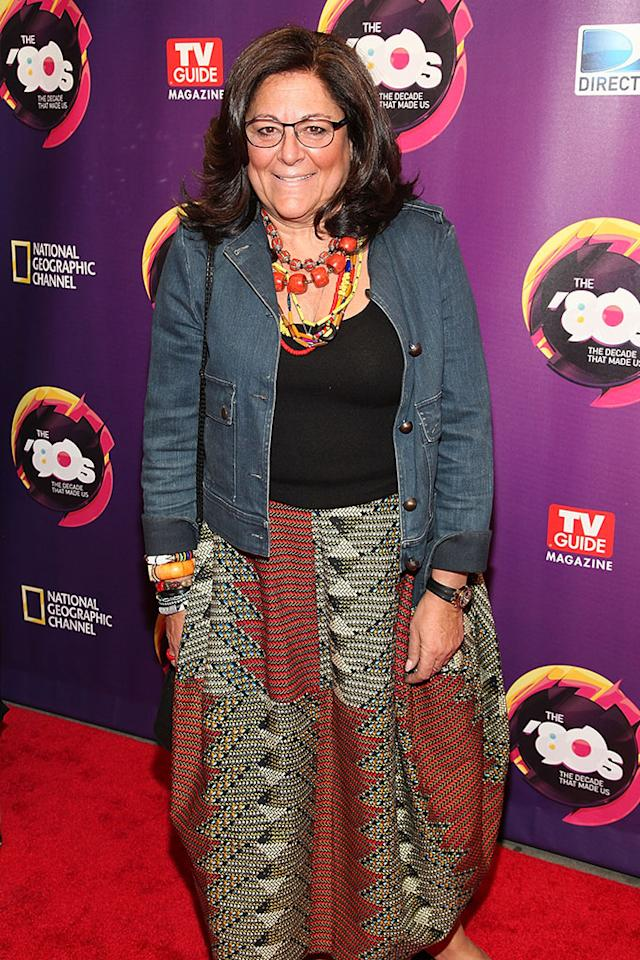 "Fern Mallis attends Nat Geo's ""The '80s: The Decade That Made Us"" New York Premiere at Culture Club on April 9, 2013 in New York City."