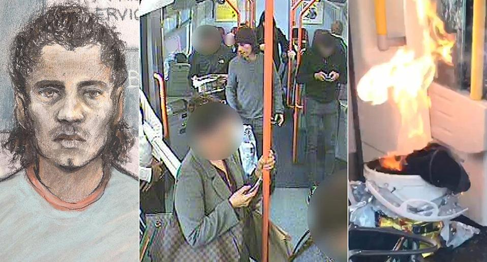 Parsons Green bomber Ahmed Hassan convicted. (PA)