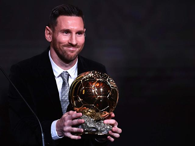 Lionel Messi beat Virgil van Dijk to the Ballon d'Or award by just seven votes: AFP via Getty