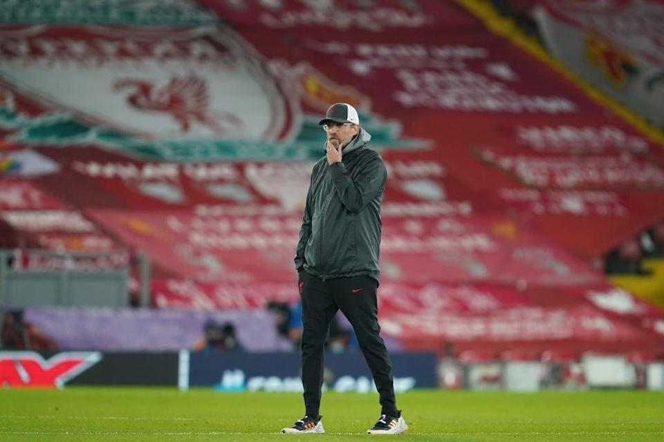 No consultation with fans, no threat of failure, no problem for the big clubs - but those flags behind Klopp will be removed soon as a resultGetty Images
