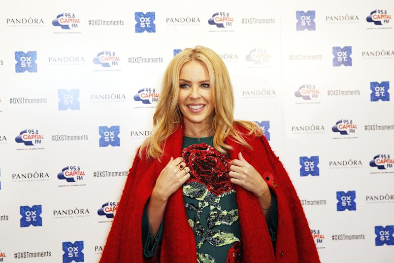 Kylie Minogue suffers Photoshop fail on 2018 calendar cover