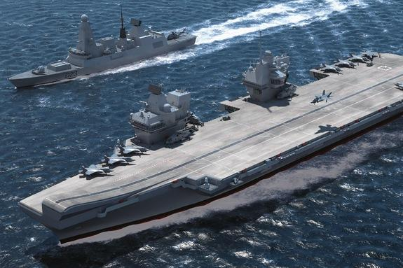 UK's Largest Aircraft Carrier to Be Unveiled Next Month