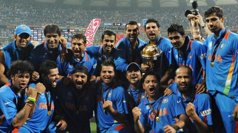 The most memorable moment for an Indian cricket fan - India winning the World Cup in 2011