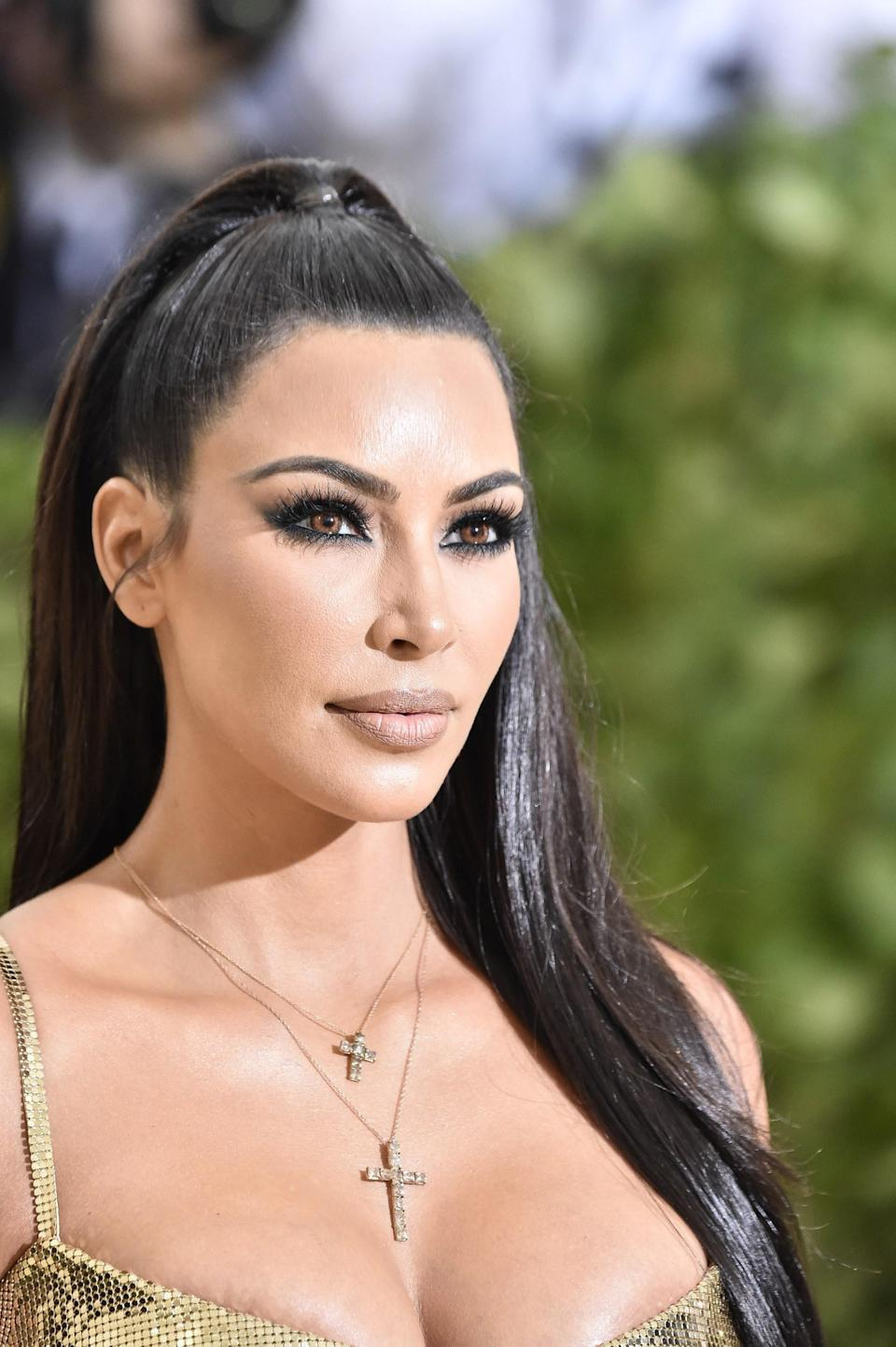 """<h1 class=""""title"""">Kim Kardashian at the Heavenly Bodies: Fashion & The Catholic Imagination Costume Institute Gala</h1><cite class=""""credit"""">Getty Images</cite>"""