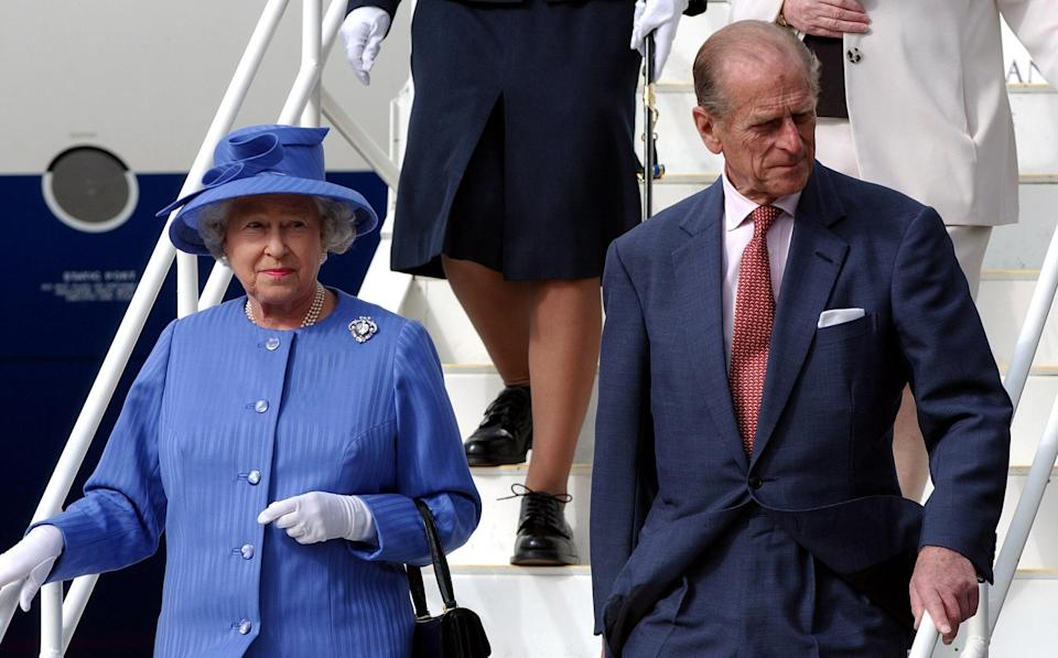 The Queen and the Duke of Edinburgh in New Zealand in 2002 [Photo: Getty]