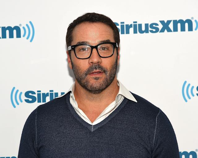 Jeremy Piven visits at SiriusXM Studios in 2016.