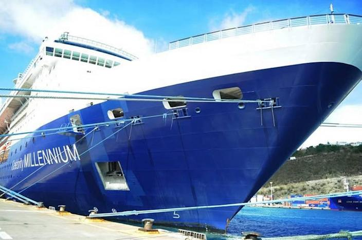 Two passengers tested positive for COVID-19 aboard the Celebrity Millennium cruise ship on Thursday, June 10, 2021, during the first cruise in the Caribbean in seven months.